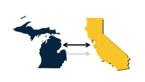 The Michigan ~ California Connection