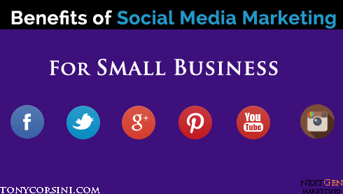 Social Media Marketing benefits for Small Business